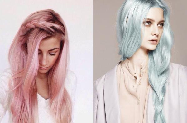 Bold and Pastel Palettes