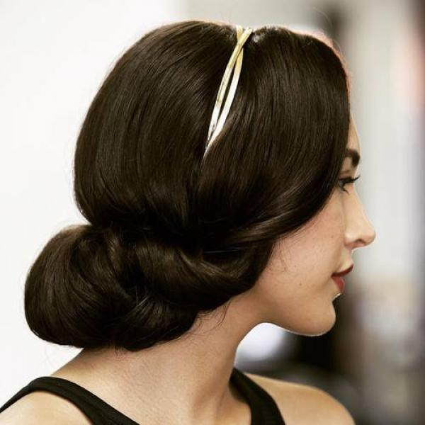 Hairstyles for Christmas and New Years Eve Parties